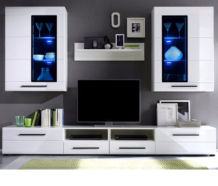 Wonderful White High Gloss Furniture