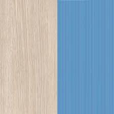 Light Oak Belluno / Blue Textured