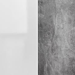 White Gloss / Atelier Grey