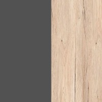 Grey Wolfram / Oak San Remo Light