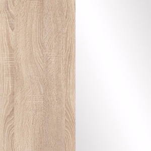 Sonoma Oak / White Gloss