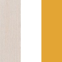 Light Oak Belluno / White / Orange