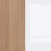 Riviera Oak / White Gloss