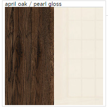 April Oak / Pearl Gloss