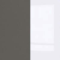 Grey Wolfram / White Gloss