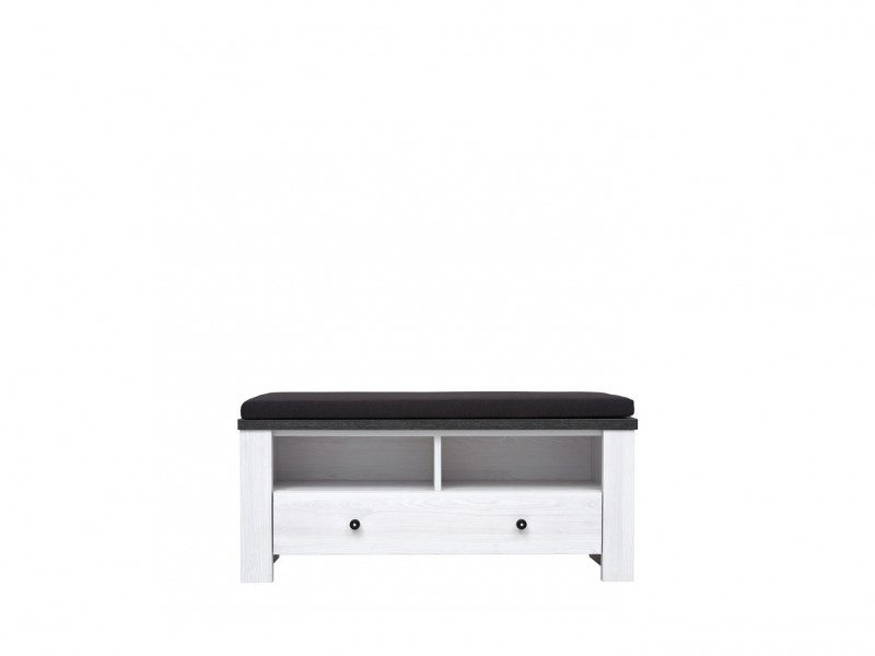 Antwerpen - Cabinet Bench with Cushion  (KOM1S/5/10)