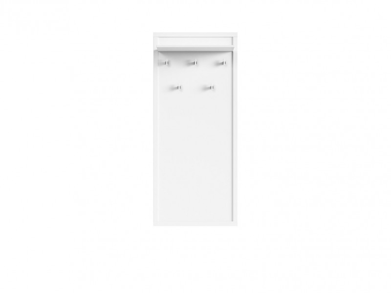 Coat Hooks Hallway Entrance Hall White - Kaspian W (WIE/60)