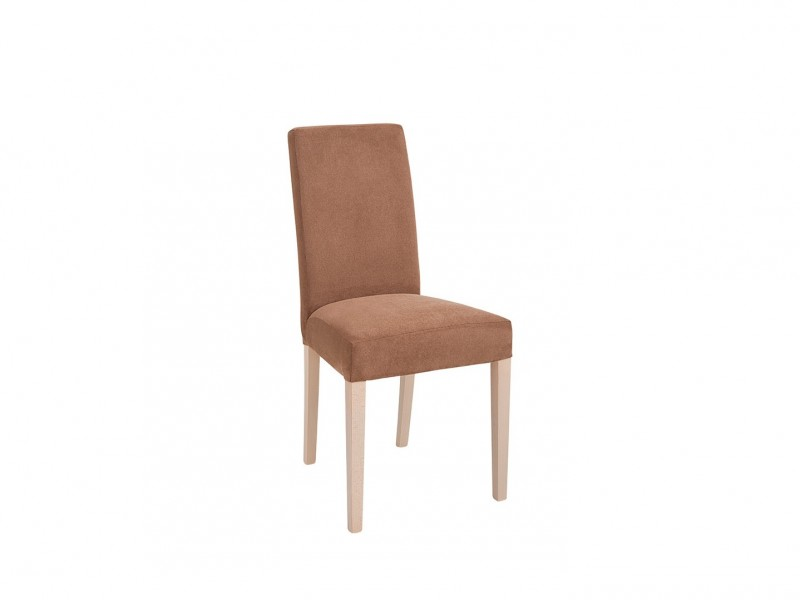 Modern Fabric Dining Chair in Oak - Kaspian (D09-TXK_VKRM/2-TX069-1-M4245G)