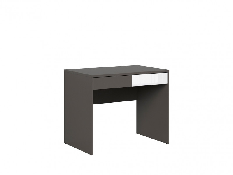 Study Desk 2 Drawer Modern Office Furniture - Graphic (S343-BIU2S/C-SZW/)