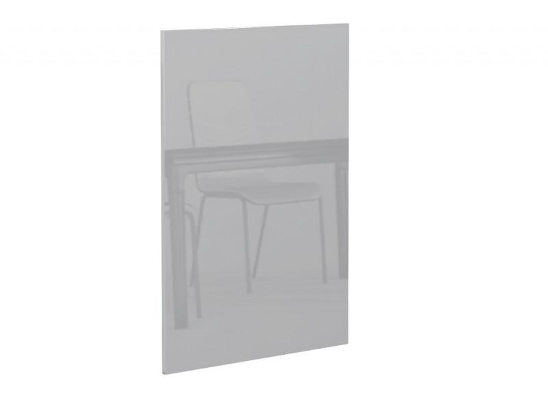 Light Dove Grey Gloss Kitchen End Panel Universal for Kitchen Cabinet Cupboard Base Unit 56x87cm - Luna (STO-LUNA_BASE_END_PANEL-SZP-KP01)