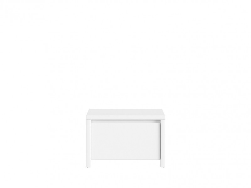 Shoe Cabinet Hallway Entrance Hall White Matt - Kaspian (S128-SBUT/60-BI/BI-KPL01)