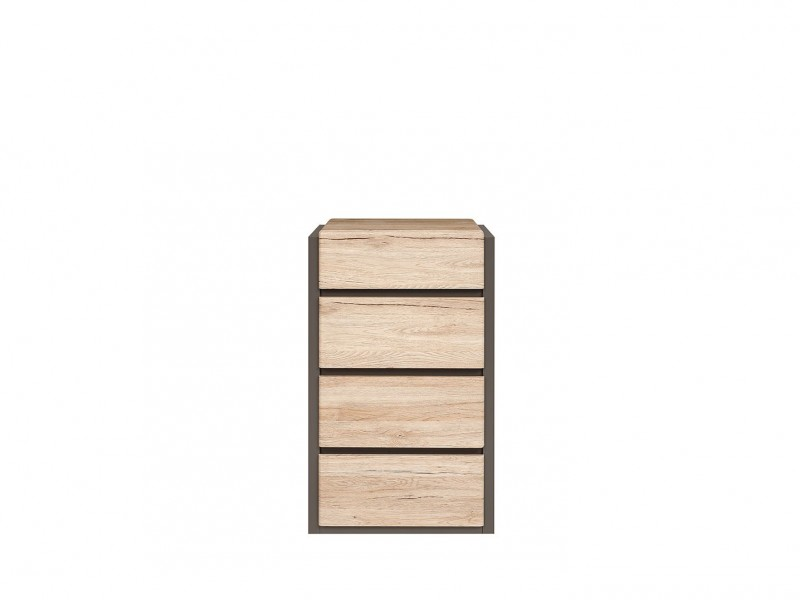 Narrow Tallboy Tall Chest of Drawers - Author (KOM4S/10/6)