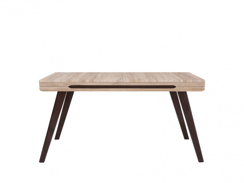 Modern Extendable Dining Table Oak finish - Elpasso Ultra (Ultra)