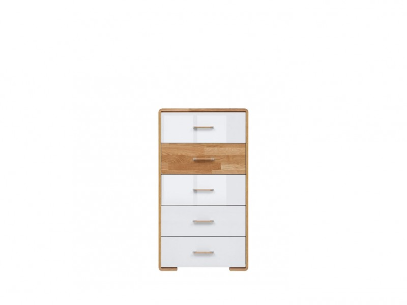 Tallboy Tall Chest of Drawers - Bari (KOM5S)