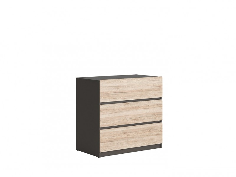 Chest of Drawers - Moden (KOM3S/90)