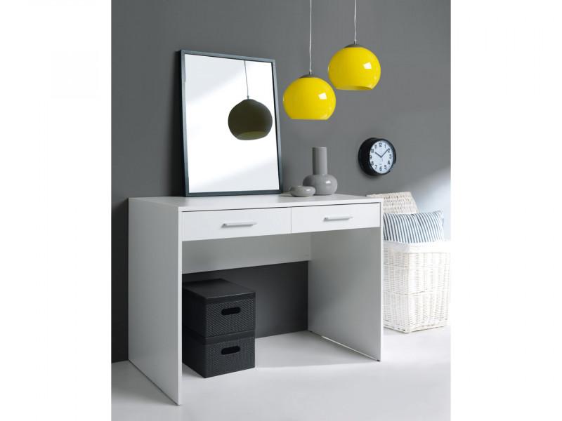 Two Drawer Study Desk Modern Office - Nepo (S301-BIU2S/BI)