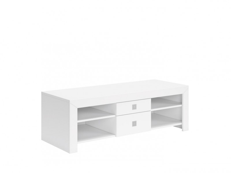 Mezo - TV Cabinet in White Gloss (RTV2S/5/14)