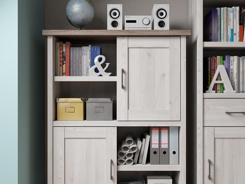 2 Door Cabinet - Luca Juzi (S328-REG2D-MSJ/DSOC-KPL01)