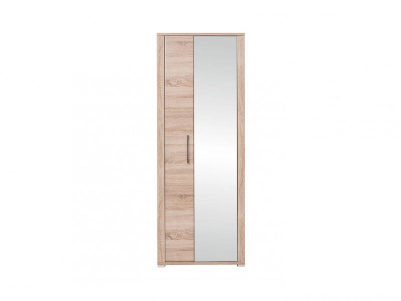 Single Mirror Door Wardrobe - Go (REG1L1D/20/7)