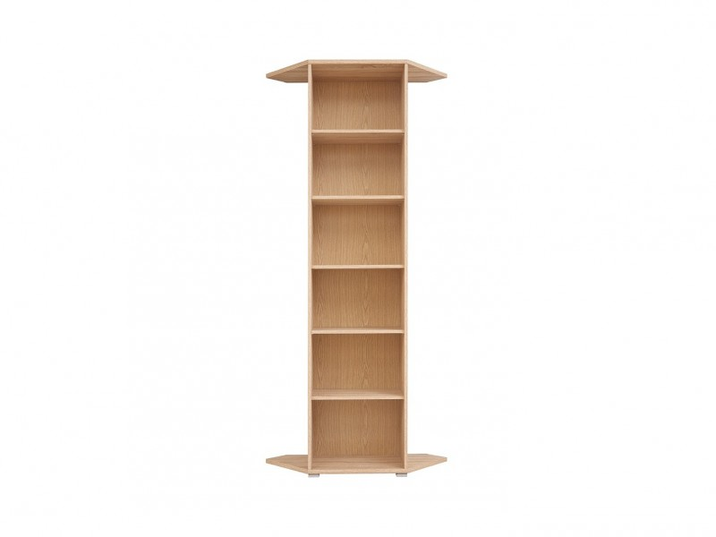 Bookcase Shelving Unit - BRW OFFICE (S173-REGN/53/220-DSO-KPL01)