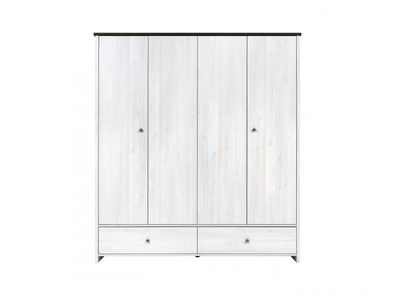 Porto - Four Door Wardrobe (SZF4D2S)