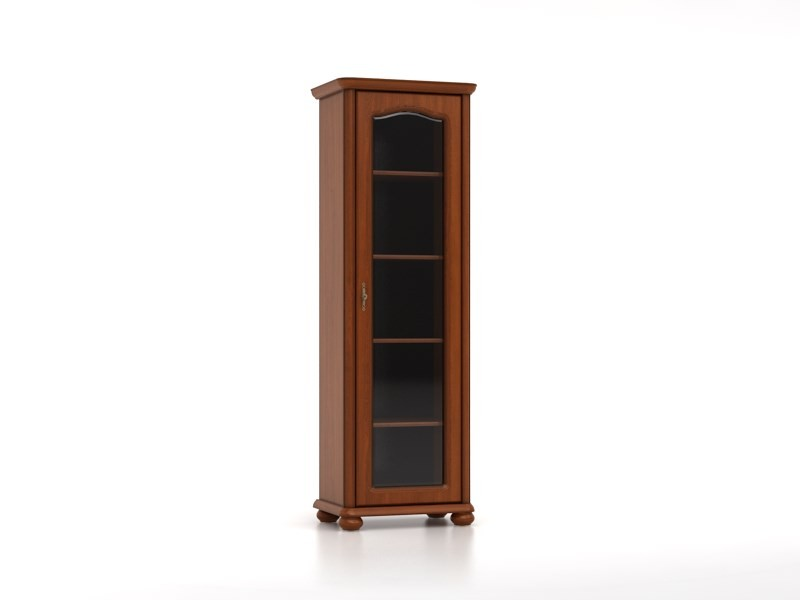 Glass Display Cabinet  Right - Natalia (WIT/70P)