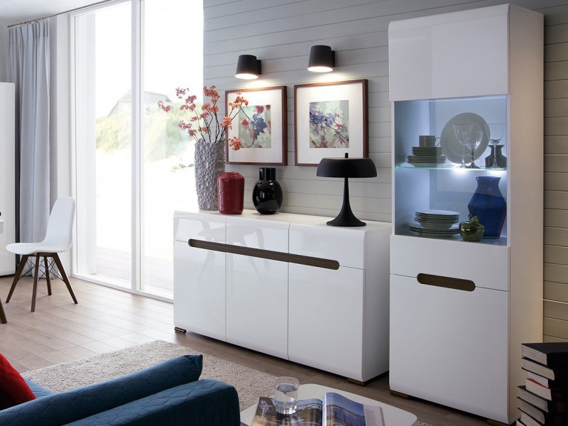 display cabinets for living room modern living room furniture set cabinet sideboard white 22274