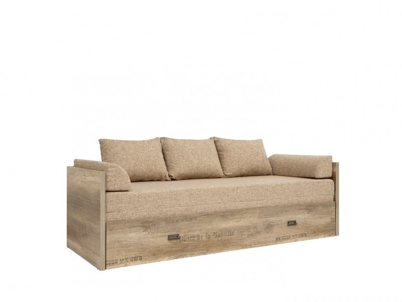Sofa Bed converts into King Size Bed - Malcolm (LOZ/80/160)