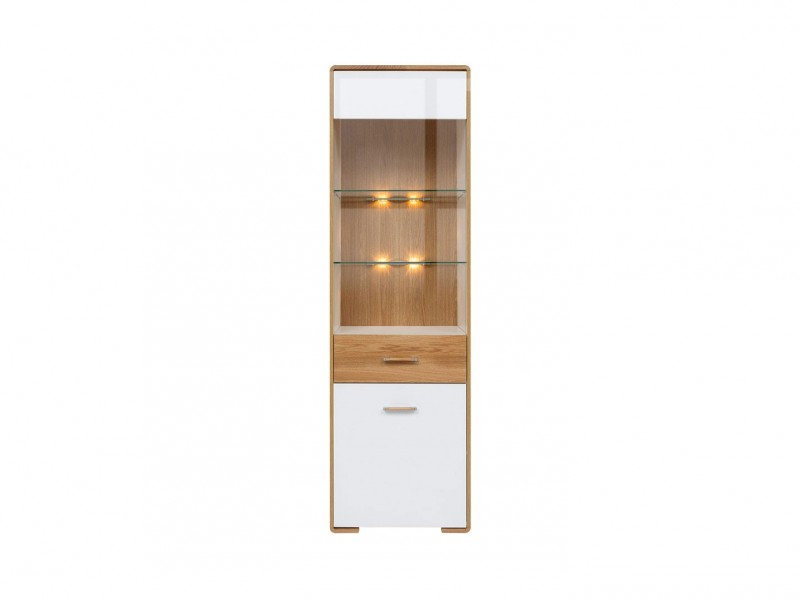 Glass Display Cabinet - Bari (REG1W1DL)