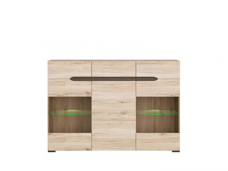 Elpasso - Sideboard Dresser Display Cabinet (KOM2W1D3S)