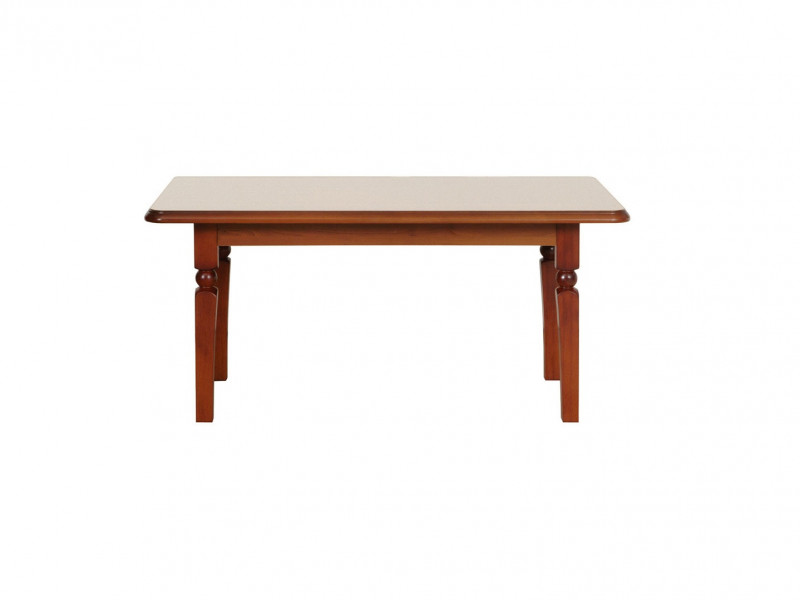 Coffee Table Classic Style Traditional Living Room Furniture Cherry Finish - Natalia (LAW120)