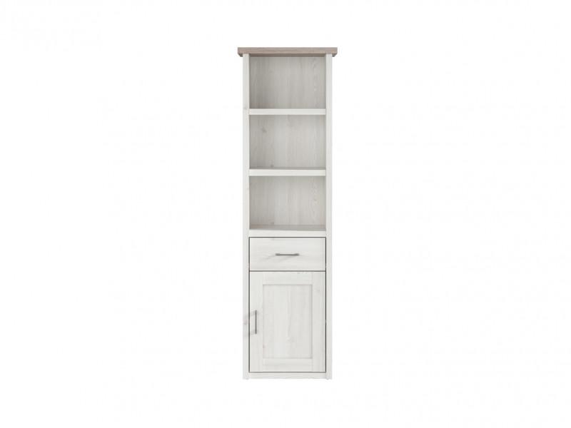 Tall Bookcase cabinet - Luca Juzi (S328-REG1D1S)