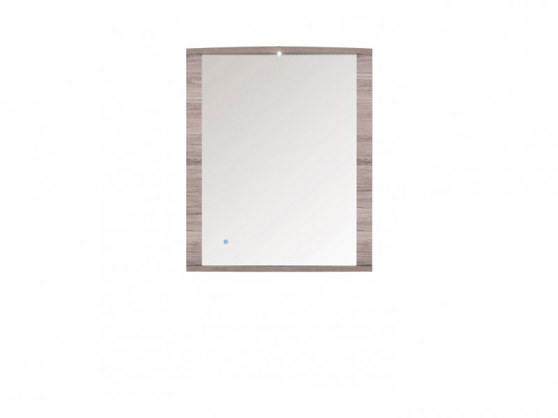 Flame -  Mirror with LED light  (LUS/ 9/8)