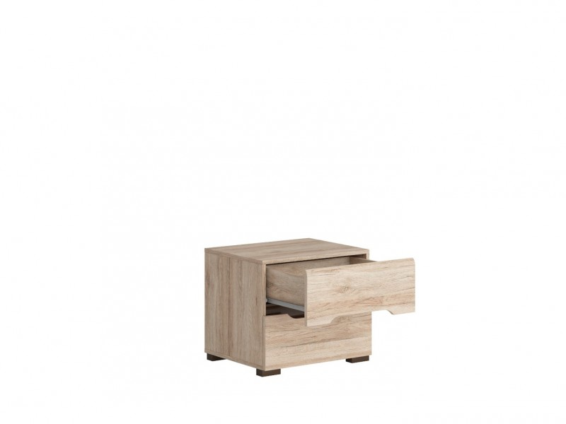 Bedside Cabinet Table - Elpasso (KOM2S)