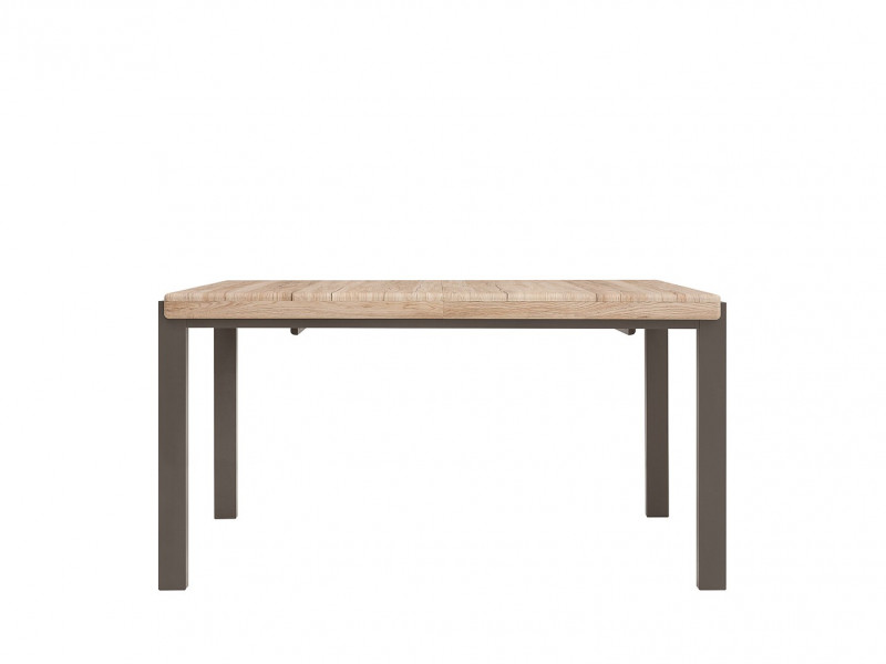 Oak finish unusual Extending Dining Table - Author (STO / ALHER)
