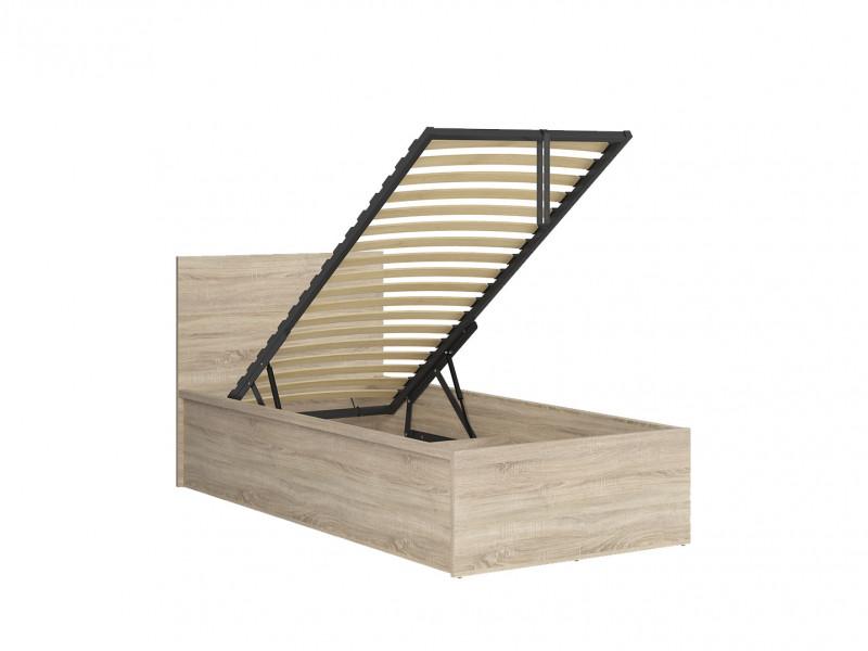 Modern Sturdy Ottoman Single Bed Frame Gas Lift Up Storage Sonoma Oak - Tetrix (S442-LOZ/90/B-DSO-KPL01)