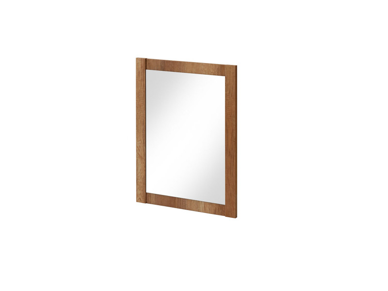 Classic Rectangular Wall Mounted Bathroom Mirror 60cm Oak - Classic Oak (CLASSIC_840_OAK)