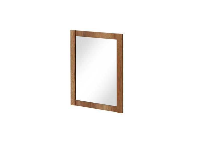 Classic Rectangular Wall Mounted Bathroom Mirror 60cm 600mm Oak - Classic Oak (CLASSIC_840_OAK)