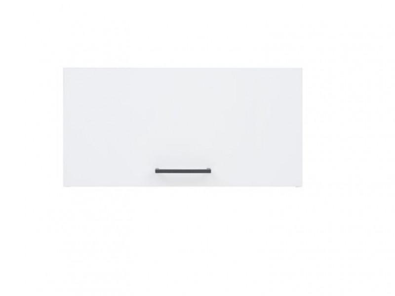 Modern Kitchen Extractor 600 Housing Wall Cabinet 60cm Unit White/White Gloss - Junona (K24-GO/60/30-BI/BIP-KPL01)