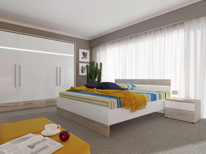 Mercur -  King Size Bedroom Furniture Set (SYPIALNIA MERCUR)