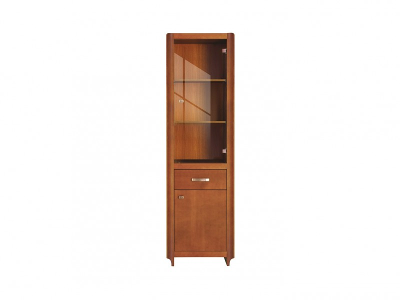 Alevil - Glass-Fronted Display Cabinet (REG1W1D1S)