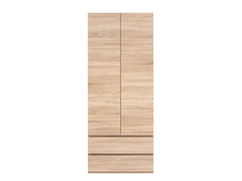 Two Door Wardrobe with Drawers - Academica (SZF2D2S)