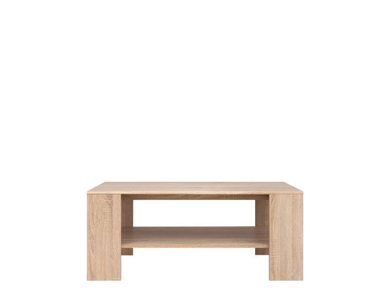 Modern Coffee Table with Shelf in Sonoma Oak - Academica (S324-LAW/115-DSO-KPL01)