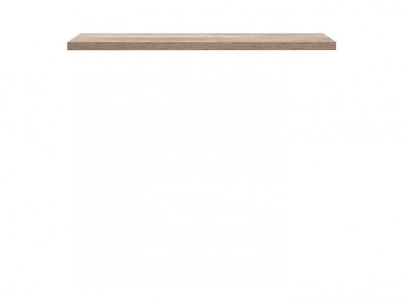 Modern Living Room Wall Mounted Floating Panel Shelf Oak - Anticca (S317-POL/160-DAMO-KPL01)