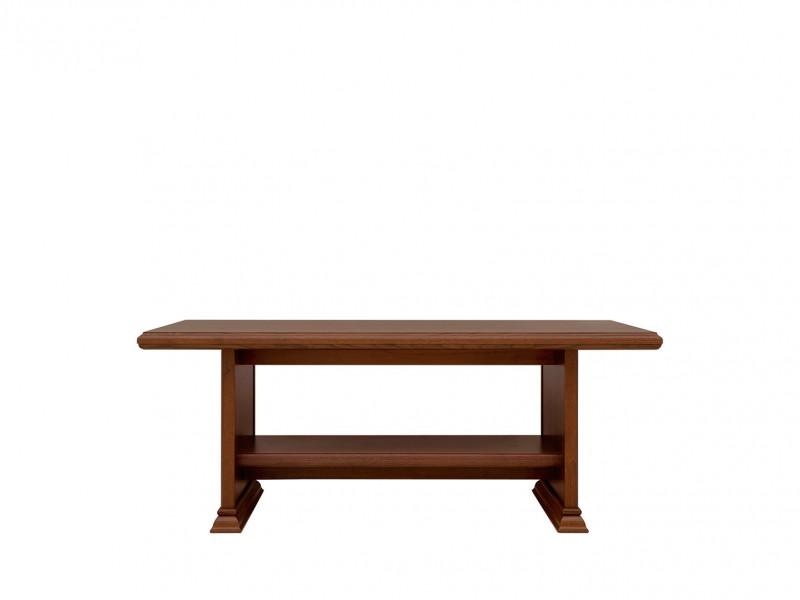 Coffee Table Classic Style Traditional Living Room Furniture Chestnut Finish - Kent (S10-ELAW130-KA)