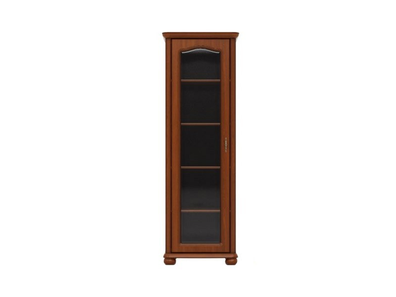 Natalia -  Glass-Fronted Display Cabinet  Left (WIT/70L)