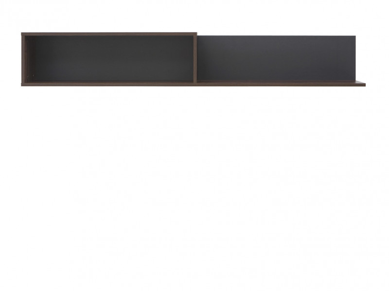 Wall Shelf 160cm Left - Alhambra (S306-POLL/160-AHB/CA-KPL01)