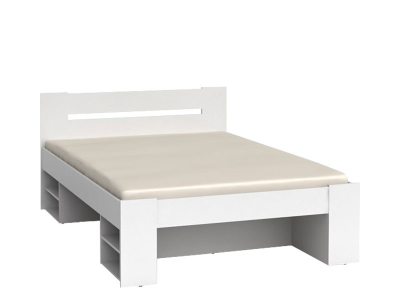 Nepo - Double Bed with Drawers (LOZ3S + OPCJA)