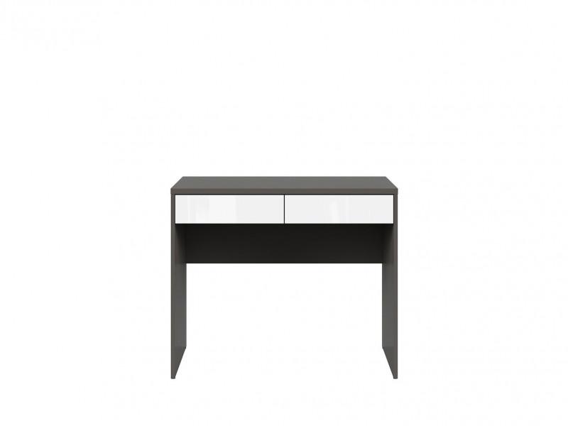 Study Desk 2 Drawer Modern Office Furniture - Graphic (S343-BIU2S/C-SZW/)