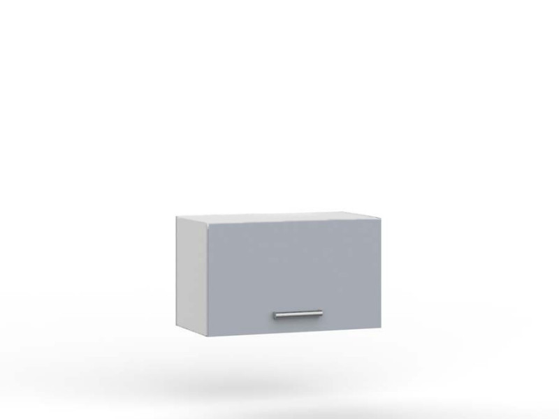 Light Grey Kitchen Extractor Housing Wall Cabinet 60cm Unit - Paula (PAULA W60 OKGR)